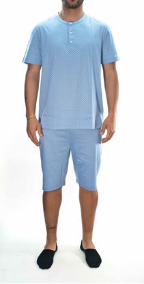 Picture of Short pajamas in jersey cotton