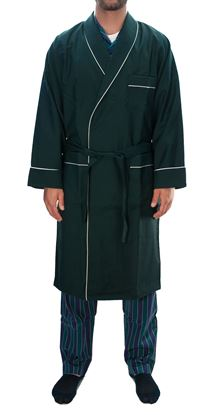 Picture of Dark green wool nightgown
