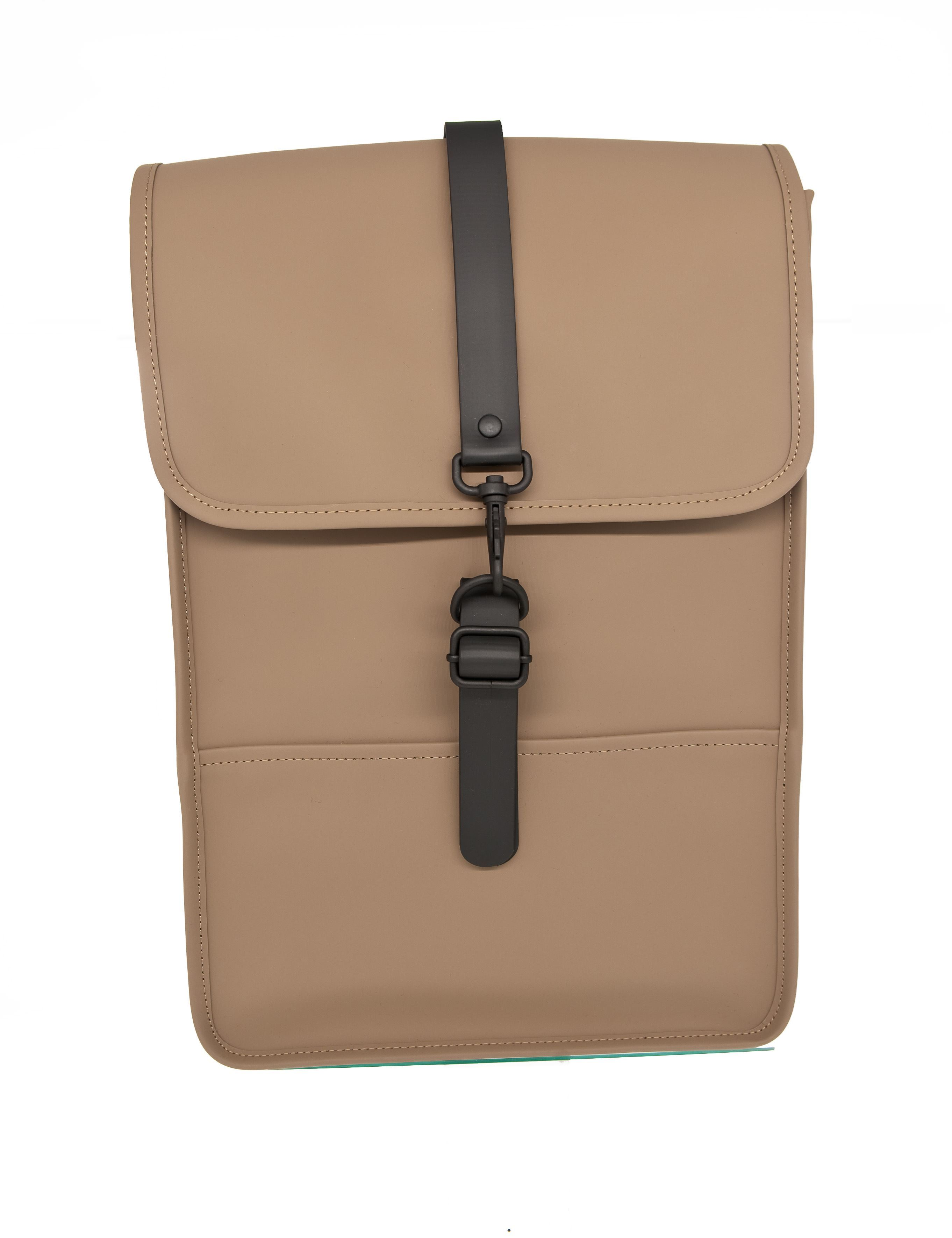 Picture of Bachpack mini taupe colour