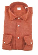 Picture of Rust washed linen shirt