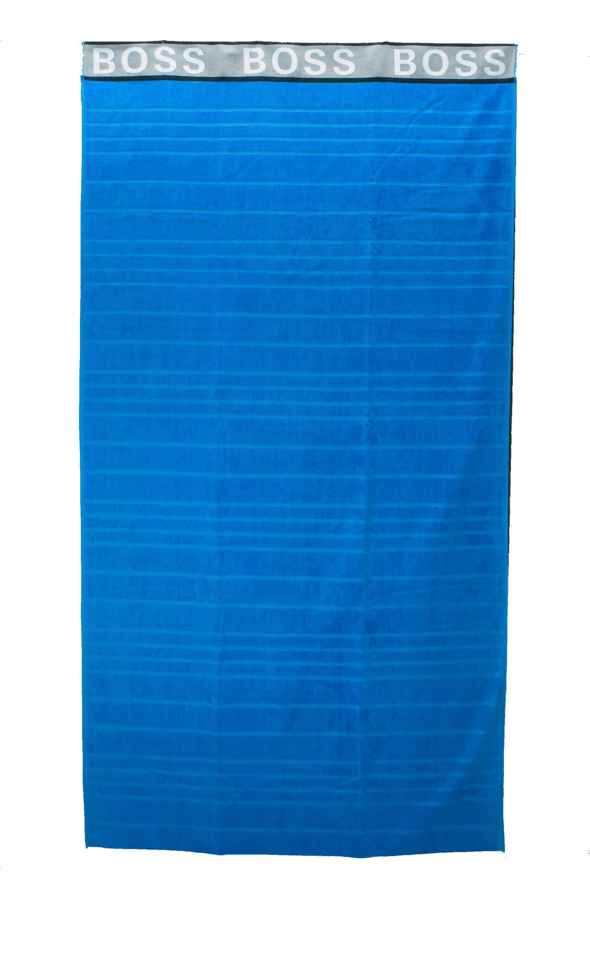 Immagine di Telo mare azzurro a righe