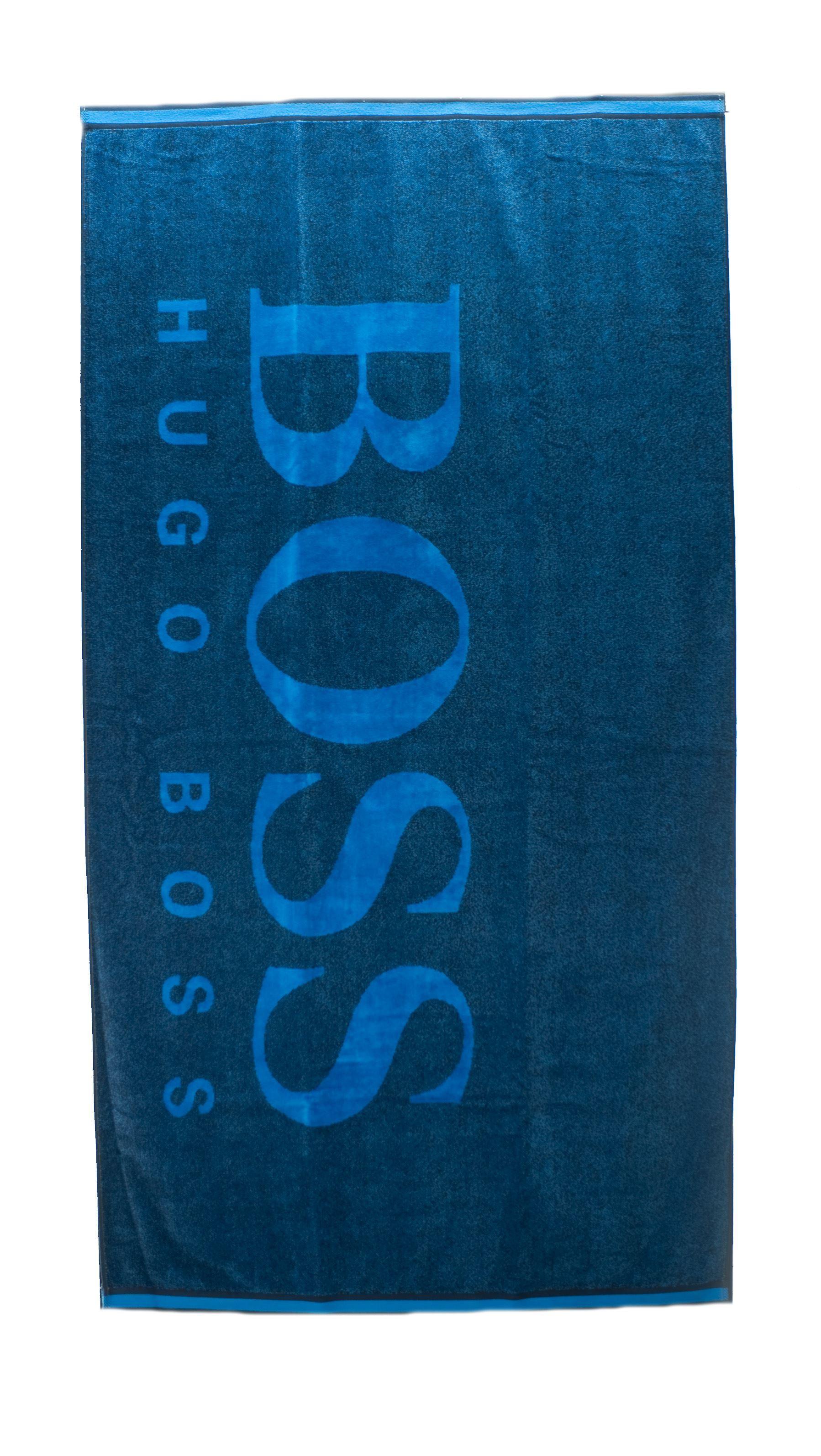 Immagine di Telo mare Logo blu