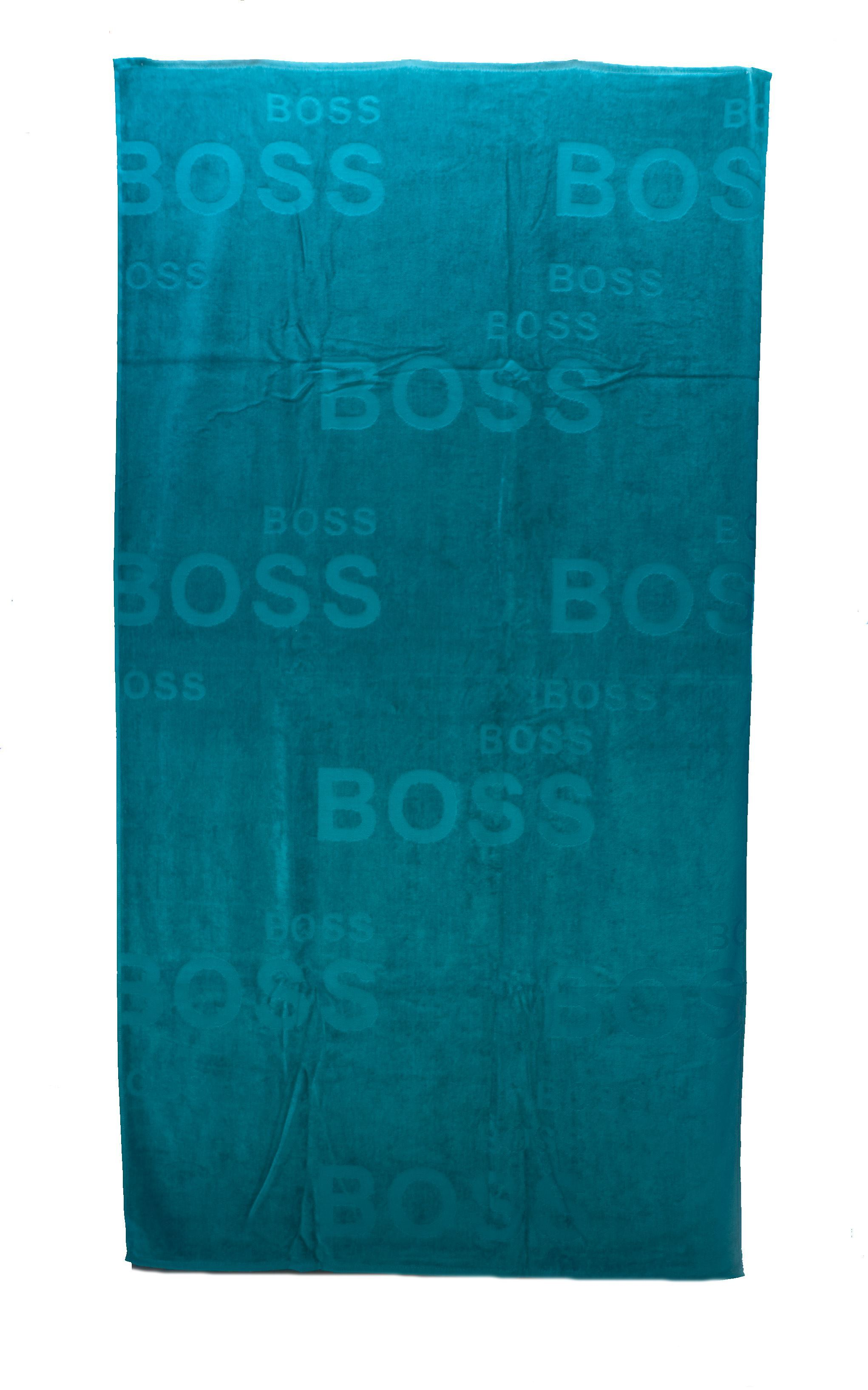 Picture of Green beach towel