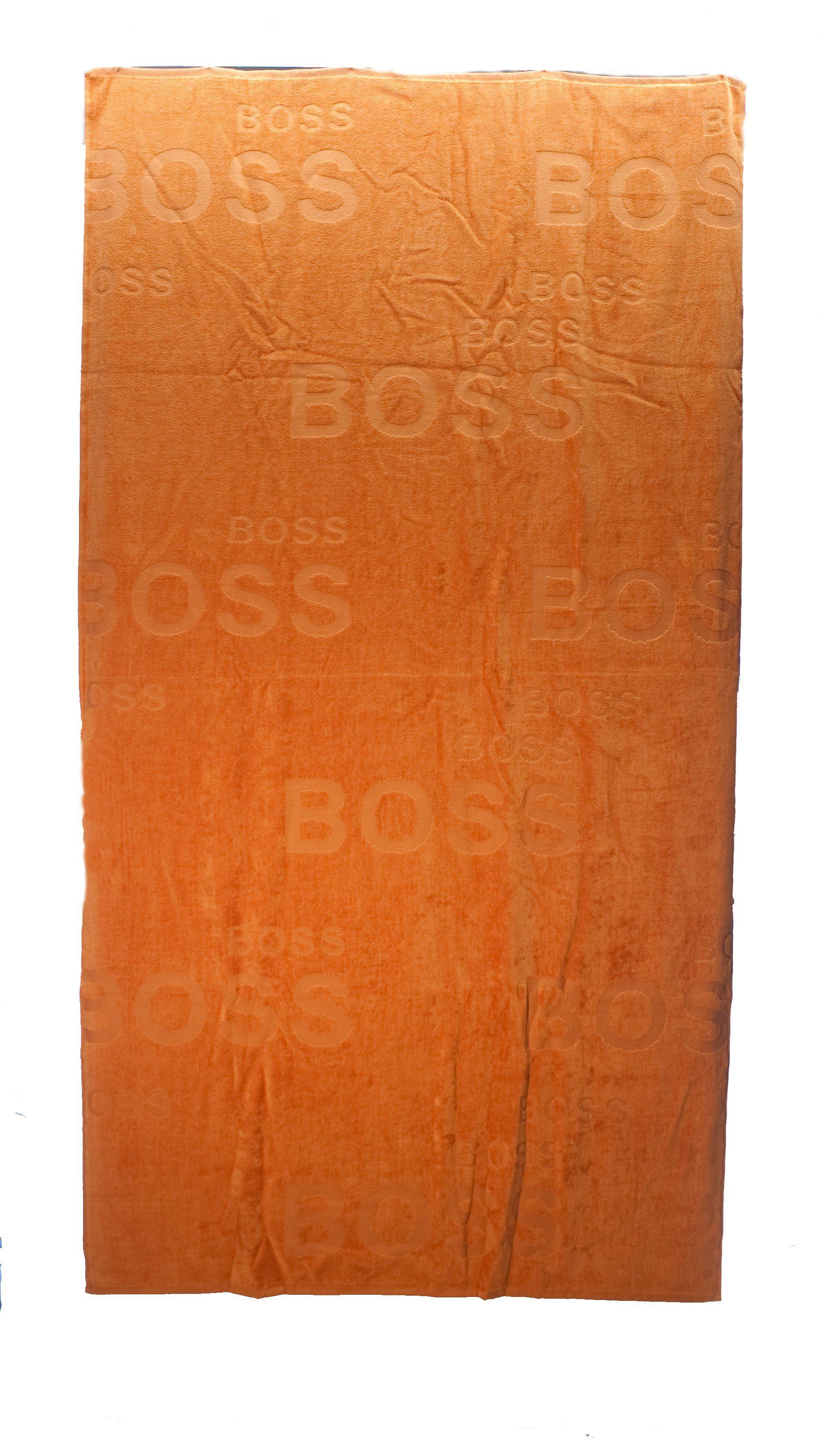 Picture of Orange beach towel