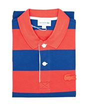 Picture of Lacoste polo  PH0106 JQ8 Rouge/Bleu