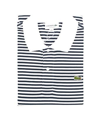 Picture of Striped Lacoste polo