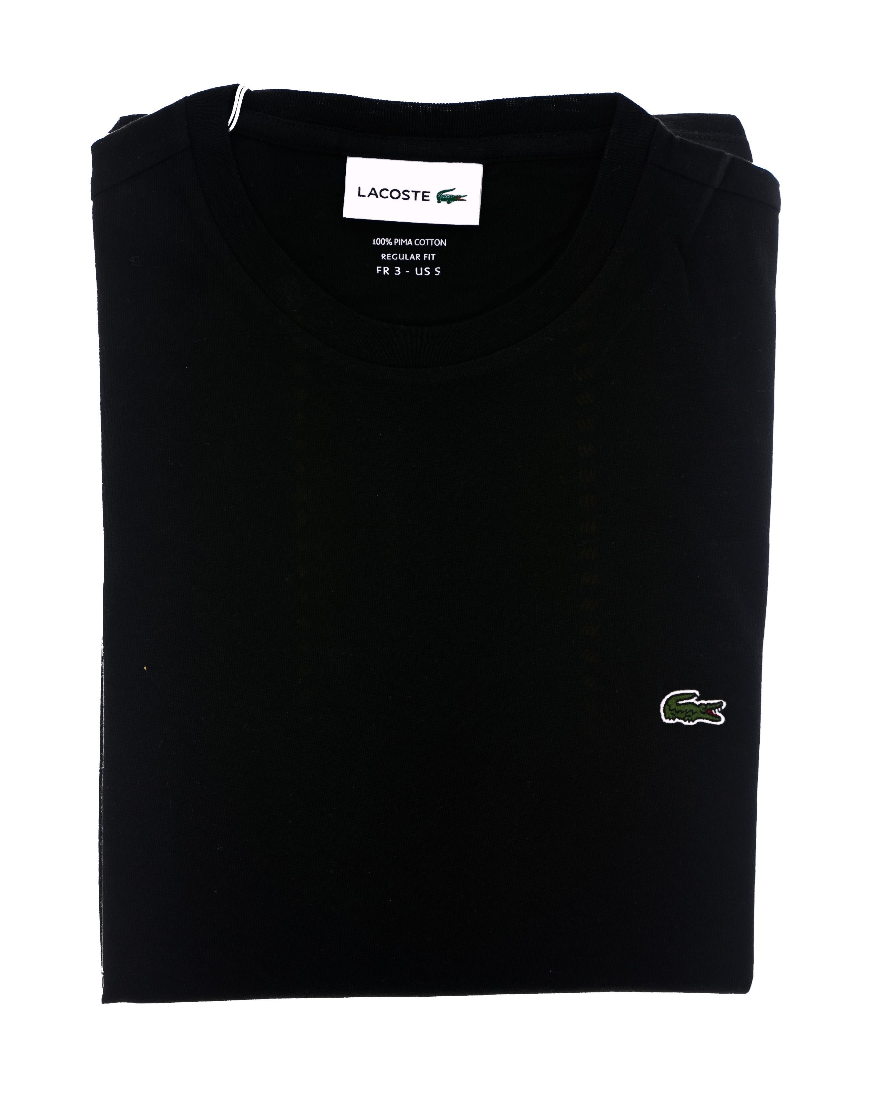 Picture of Black Jersey cotton t-shirt