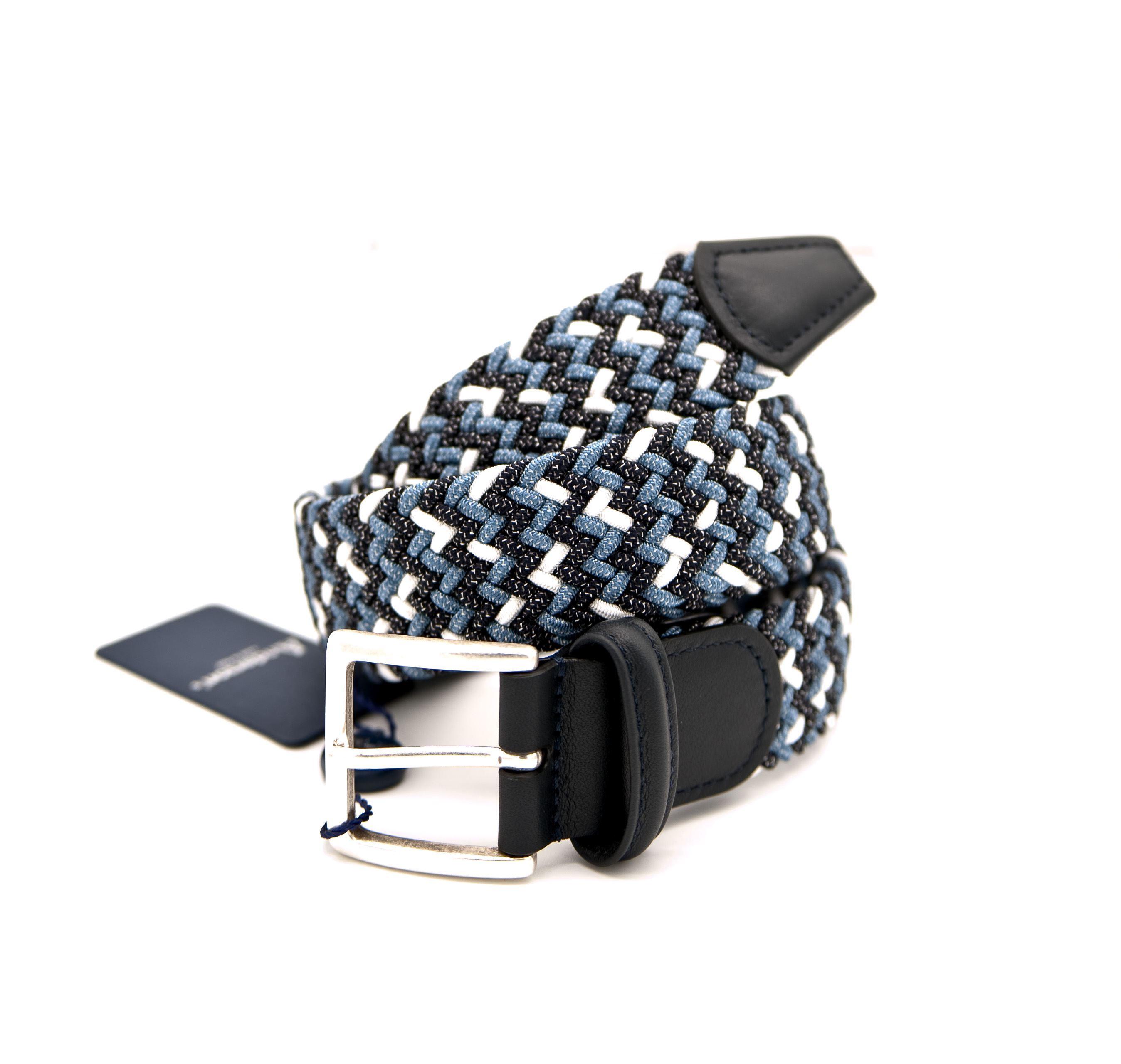Immagine di Cintura in elastico intrecciato multicolore