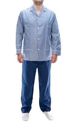 Picture of Striped pattern men's pajamas