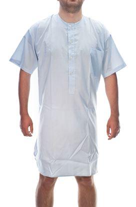 Picture of Men'scotton poplin night shirt