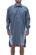 Immagine di Camicia da notte da uomo blu a righe