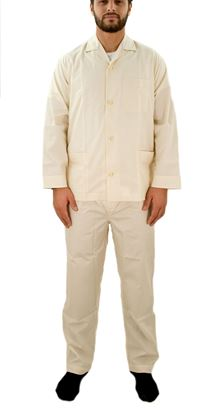 Picture of Buttoned men's pajamas