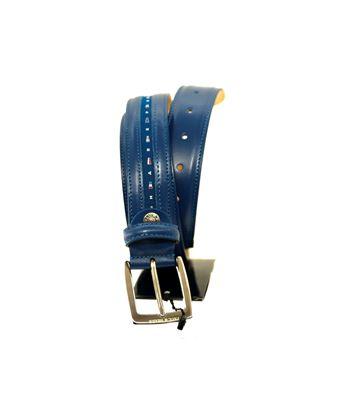 Immagine di Cintura in pelle blu