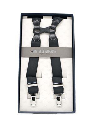 Immagine di bretelle in elastico nero