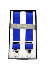 Picture of Elastic braces royal blue background