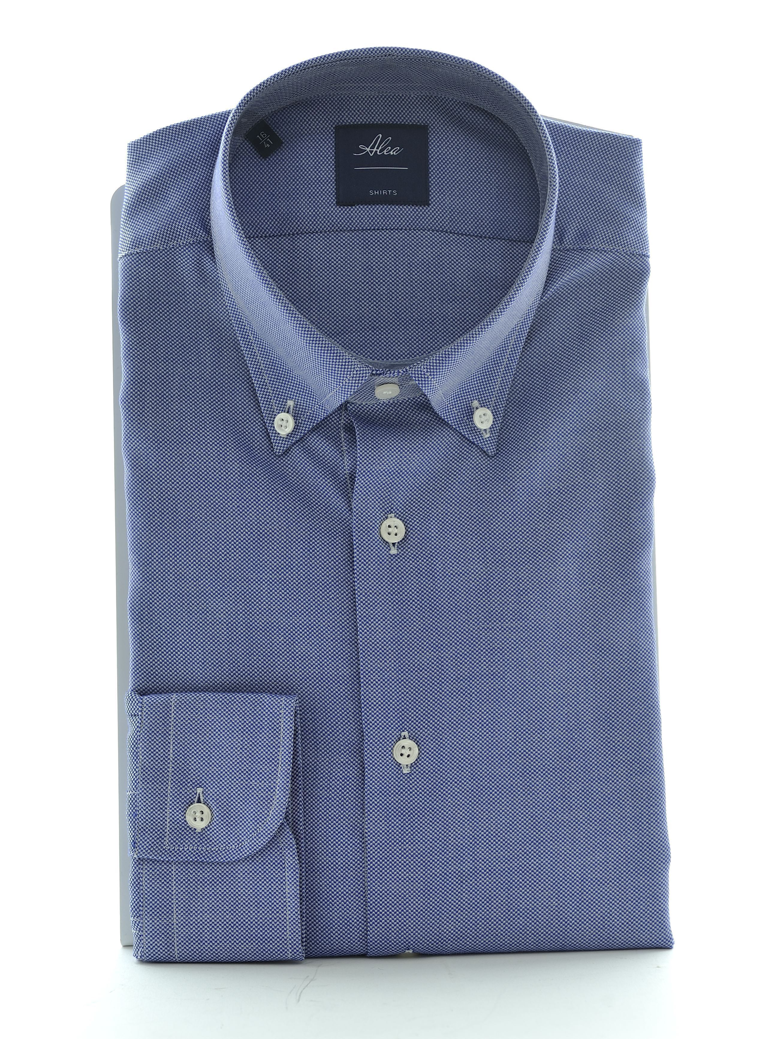 Picture of Long-sleeved shirt with Oxford weave