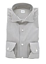 Picture of Grey and white striped shirt