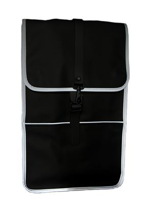 Picture of Black  reflective backpack