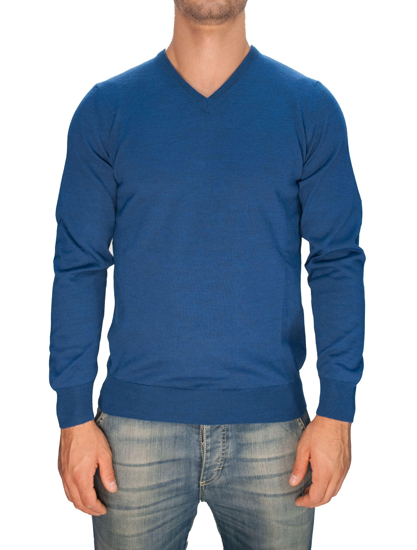 Picture of Trefili® merino wool V-neck
