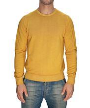 Immagine di Girocollo lana merino lavato Senape
