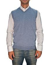 Picture of Trefili® Powder blue merino wool vest
