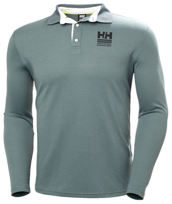 Picture of Green Skagen Quickdry rugger Polo