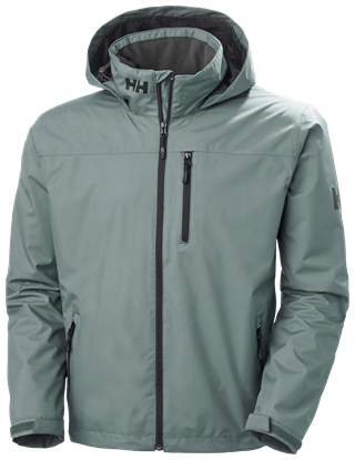 Picture of Green Crew Hooded Midlayer jacket