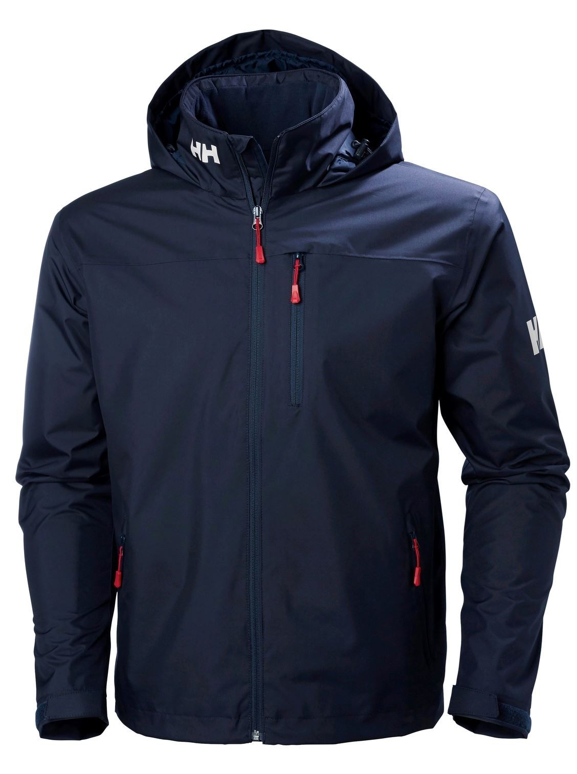 Picture of Navy Crew Hooded Midlayer Jacket