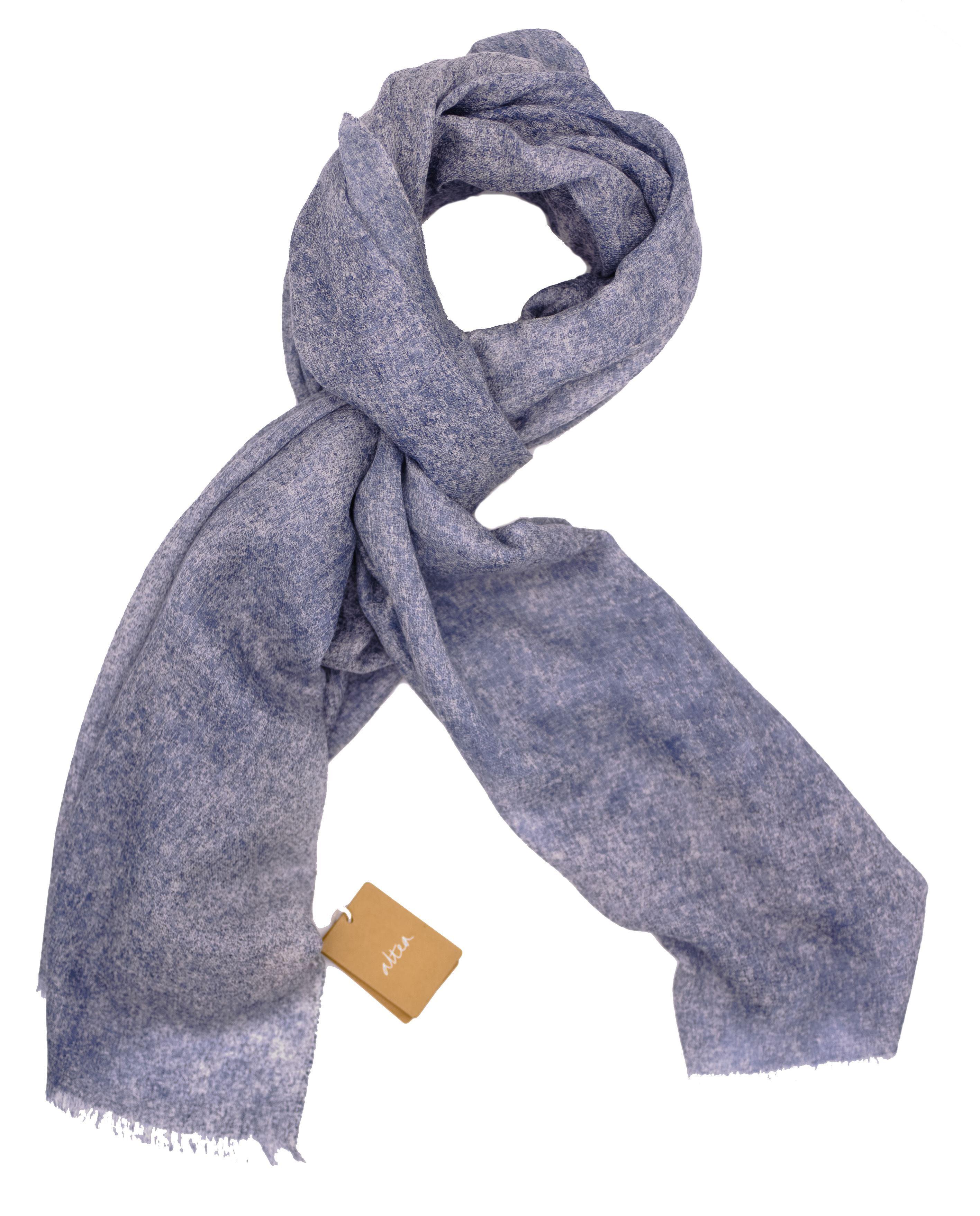 Immagine di Sciarpa in Cashmere azzurro