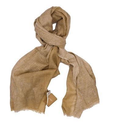 Picture of Beige Cashmere wool scarf