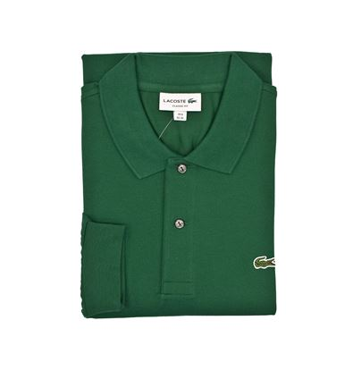 Picture of long-sleeved polo Colour Green