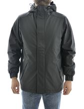 Picture of Rains Quilted Parka 1514 Black